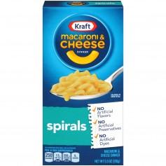 Kraft Macaroni And Cheese Spirals 156g