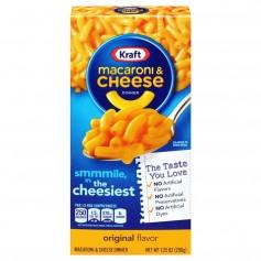 Kraft Macaroni And Cheese Cheesiest 206g