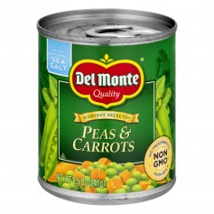 Del Monte Peas And Carrots 8.5oz