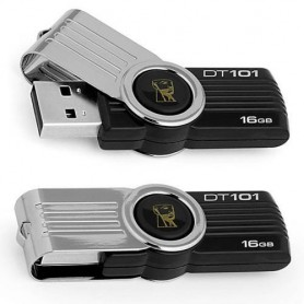Kingston Digital 16GB DataTraveler 101 G2 USB 2.0 Drive