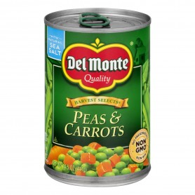 Del Monte Peas And Carrots 411g