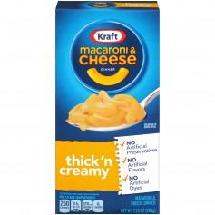Kraft Macaroni And Cheese Thick And Creamy 206g