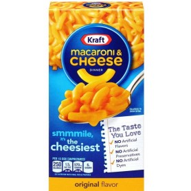 Kraft Macaroni And Cheese Cheesiest 156g