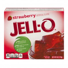 Kraft Jello Gelatin Strawberry 3oz