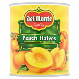 Del Monte - Fruit - Peach Halves 29 oz