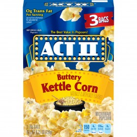 Act 11 Microwavable Popcorn Kettle Corn 8.25oz