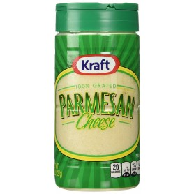 Kraft Parmesan Cheese Grated 100% 8oz