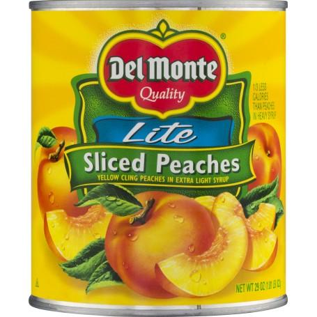 Del Monte Peaches Sliced Lite 29oz