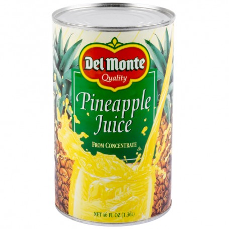 Del Monte Fruit Pineapple Juice 46oz