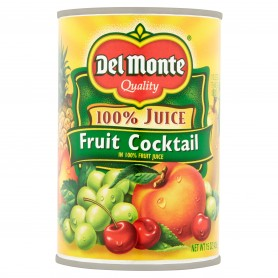 Del Monte - Fruit - Cocktail Naturals 100% 15 oz