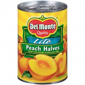 Del Monte - Fruit - Peach Halves Lite 15.25oz