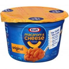 Kraft Macaroni And Cheese Easy Mac Cup Original 2.05oz