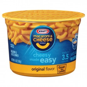 Kraft Macaroni And Cheese Easy Mac Cup Original Cheese 4.01oz