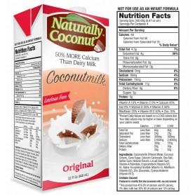 Naturally Coconut Original Coconut Milk 32oz