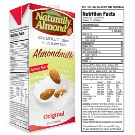Naturally Almond Original Milk 32oz