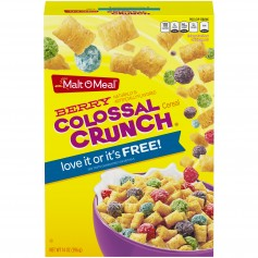 Malt O Meal Berry Colossal Crunch 14oz