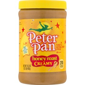 Peter Pan Peanut Butter Creamy Honey Roasted 16.3oz