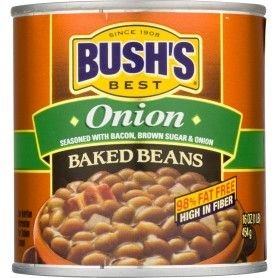 Bush's Baked Beans Real Onions 16oz