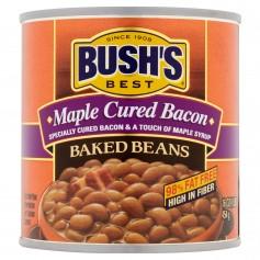 Bush's Baked Beans Best Maple Cured Bacon Baked Beans, 16 oz