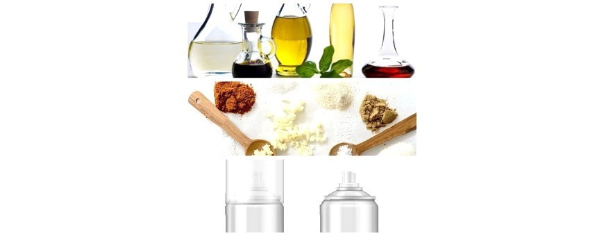 Seasoning, Baking, Spices, Oils, Vinegar And Sprays