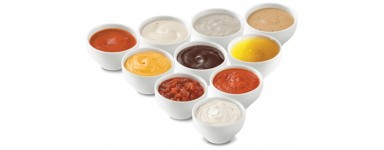 Condiments And Salad Garnish